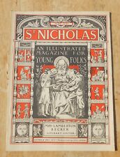 St Nicholas Magazine for boys and girls vintage 1931 May