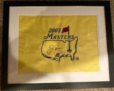 Jack Nicklaus 6x Champion Signed Autographed Framed  Masters Flag COA Fanatics