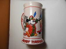 MICKEY MOUSE STEIN  Through The Years Disney CERAMARTE Mug Pink