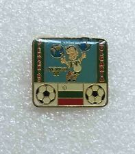 football soccer pin WORLD CUP 1986 MEXICO Bienvenido BULGARIA official pin rare