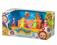 Teletubbies Pull Along Custard Train Playset Play Set 4 Figures Sounds Cbeebies