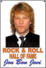 Jon Bon Jovi Vinatge Style Metal Sign Kitchen Vintage Style  Sign