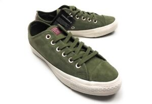 Converse Women's Chuck Taylor All Star OX Suede Low Top Casual Shoes Sneakers