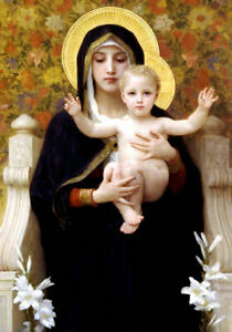 Best Gift Canvas HD Print Adolphe Bouguereau oil painting Angels Art Home Decor