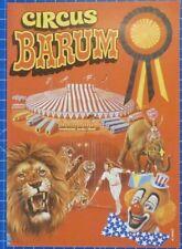 Circus Barum Programm Illustrierte  B19228