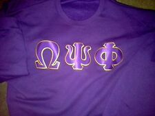 Omega Psi Phi Purple T-Shirt XL