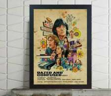 Dazed and Confused series tv movie film Usa Show Art poster Unframed Glossy Art