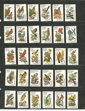 United States #1953 - #2202 STATE BIRDS AND FLOWERS ISSUE
