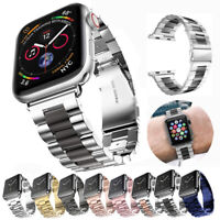 Replacement Band For Apple Watch Series 5 4 3 2 1 Metal Bracelet Strap 40mm 44mm