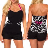"Metal Mulisha ""The Inking"" Ladies Halter Size S"