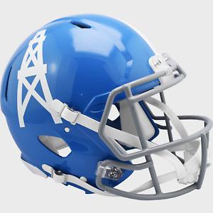 HOUSTON OILERS 1960-1963 THROWBACK Riddell Full Size Replica Football Helmet