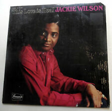 JACKIE WILSON This Love Is Real  1970 LP SEALED  Brunswick label Soul R&B #970