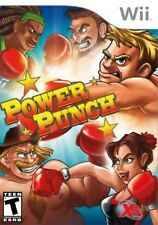 Power Punch (Nintendo Wii, 2010) LN WITH Manual & LOW SHIPPING