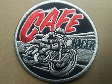 CAFE RACER SEW OR STICK ON  PATCH