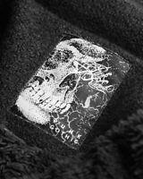 Punk Rave Pyon Pyon Winter Coat Jacket Womens Black Gothic Lolita VTG Faux Fur