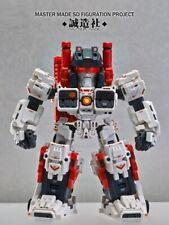 Master Made Transformers Sdt-01 Titan Mobile City Q Version Metroplex Toy Stock