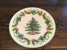 SPODE CHRISTMAS TREE Holly & Juniper 12 in. Buffet Plate Charger Platter NEW