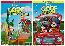 TOON Disney Goof Troop Goofy Disney Channel Series Volume One & Two 1 and 2 DVD