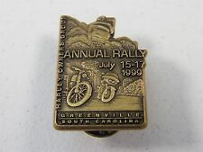 HARLEY DAVIDSON OWNERS GROUP HOG 1999 GREENVILLE SOUTH CAROLINA ANNUAL RALLY PIN