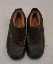 Little Boys Size 1.5 Cherokee Leather Loafers Size 1 1/2