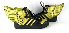RARE! JEREMY SCOTT X ADIDAS JS WINGS 2.0 Metallic Gold Black Shoes 10.5 12/10