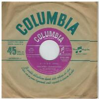 PAUL ANKA Diana/Don't gamble with love 45rpm 7' + PS 1957 ITALY EX