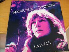 MAMA BEA TEKIELSKI LA FOLLE LP GATEFOLD MINT-  PROG FOLK AVANTGARDE ITALY