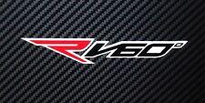 Aprilia RV60 moto Pegatinas adhesivas gráficos x 4 rojo,negro,blanco