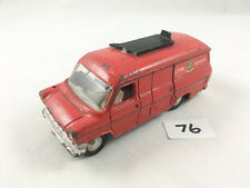 EARLY DINKY TOYS # 286 FORD TRANSIT FIRE APPLIANCE TENDER ENGINE DIECAST RED