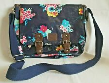 LOVELY PVC WATER PROOF CROSS BODY/TOTE/ SATCHEL BAG BY ANIMAL BLUE FLORAL