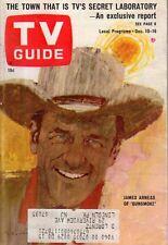 1966 Tv Guide Diciembre 10 - James Arness - Gunsmoke; Terreno Ort Jervis Ny;