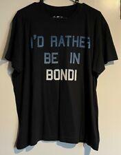 "New listing "" I'de Rather Be In Bondi "" Mens T-Shirt M Adamsville Brand Sydney Australia"