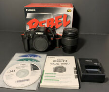 Canon Rebel T3  with 18-55mm 3.5-5.6 IS II Zoom Lens EOS 1100D Original Box