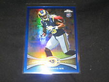 CHRIS GIVENS NFL 2012 AUTHENTIC LIMITED EDITION FOOTBALL CARD REFRACTOR /199