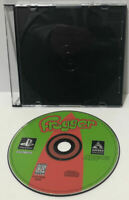 FROGGER PS1 Playstation Game Black Label Original DISK ONLY ! Cleaned And Tested