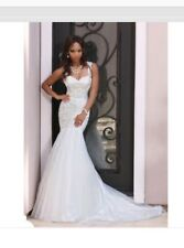 dc2a969eb4 Divinci Bridal Mermaid Style Wedding Dress!! size 14-16