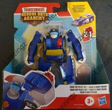 Transformers Rescue Bots Academia Playskool héroes Chase The Police Bot a Racer