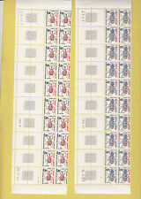 TIMBRES TAXES - LOT - SERIE COMPLETE 10 BdF INSECTES - surcharge SPM -SUPERBE -