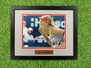 Maria Sharapova Signed 8x10 Photo Jsa Auto Custom Framed Tennis