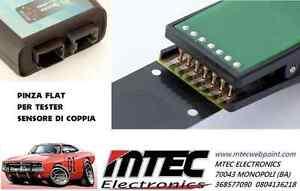 Pinza Flat CAVO Sensori di coppia Sterzo Flat Fiat Opel - TESTER MTEC Crimpato