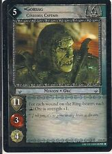 Lord of the Rings CCG - Mount Doom - Gorbag Covetous Captain #59 Rare