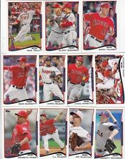 LOS ANGELES ANGELS 2014 Topps Mini COMPLETE 19 Card Team Set ONLINE EXCLUSIVE