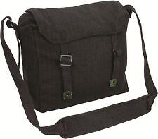 Reclaimed Vintage Style Canvas Webbing Military  Messenger Side Bag Satchel