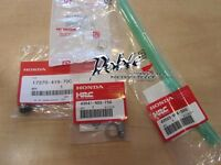 Genuine HRC Honda Racing Corporation Complete Rear Brake Reservoir 4 Parts Kit