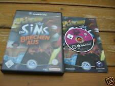 Die Sims brechen aus Gamecube komplett mit Anleitung und OVP