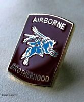 Airborne Brotherhood PARACHUTE Paratrooper Jump Lapel Pin