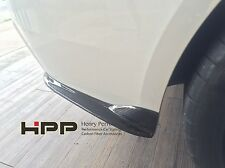 For BMW F32 M Sport 330 Carbon Rear Bumper Splitter Spoiler Lip CF