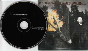 OF THE WAND & THE MOON Emptiness Emptiness PROMO CD 2001 Dark Ambient 9 Songs