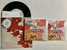 """KEANE - CAUSE & EFFECT SIGNED AUTOGRAPHED DELUXE CD + SOMEWHERE ONLY 7"""" RECORD"""