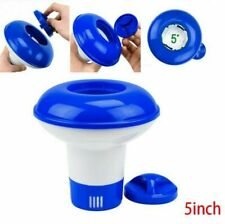 """Swimming Pool 5"""" Floating Chemical Dispenser Floater Chlorine Tablet Cleaning"""